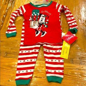 NEW Disney Minnie Mouse Youth Pajama Set